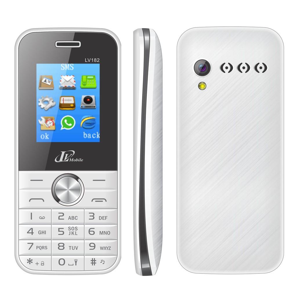 Điện thoại LV Mobile LV182 Pin Khủng - Hàng Chính Hãng - Bảo Hành 12 Tháng