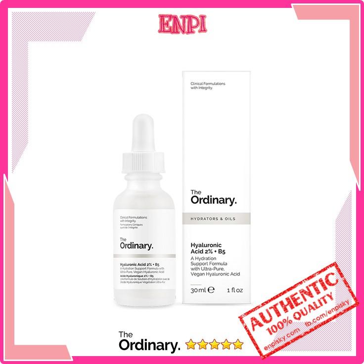 [Bill hãng] Cấp ẩm hồi phục Hyaluronic Acid 2% + B5 - The OrdinaryFullsize 30ml