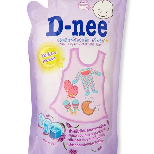 DD giặt xả 600ml D-nee gói tím (M089)
