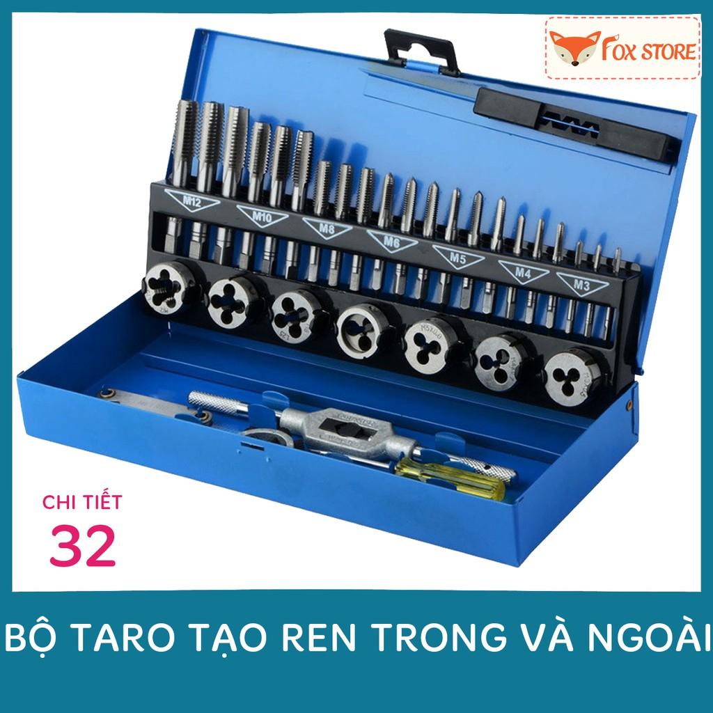 Bộ taro A9B01 tạo ren trong và ngoài 32 chi tiết (Sản xuất theo đơn đặt hàng của Đức) - 22610080 , 2217581692 , 322_2217581692 , 525000 , Bo-taro-A9B01-tao-ren-trong-va-ngoai-32-chi-tiet-San-xuat-theo-don-dat-hang-cua-Duc-322_2217581692 , shopee.vn , Bộ taro A9B01 tạo ren trong và ngoài 32 chi tiết (Sản xuất theo đơn đặt hàng của Đức)