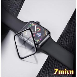 Miếng dán cường lực Apple watch full màn, Full keo - Loại xịn