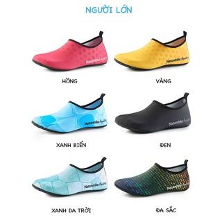 [CHÍNH HÃNG] Giày Đi Biển, Đi Bơi, Tập Thể Thao Yoga, Đi Bộ, Leo Núi cho Nam Nữ NatureHike NH18S001-X