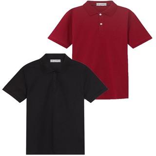 Áo thun nam, áo thun vải cá sấu, HM2-ATN(đỏ, đen)