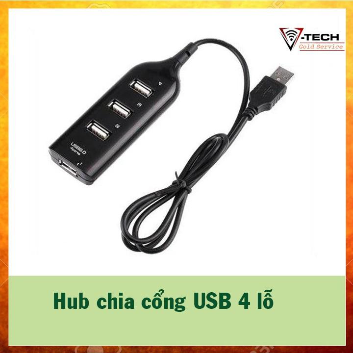 Hub chia cổng USB 4 ổ 2.0
