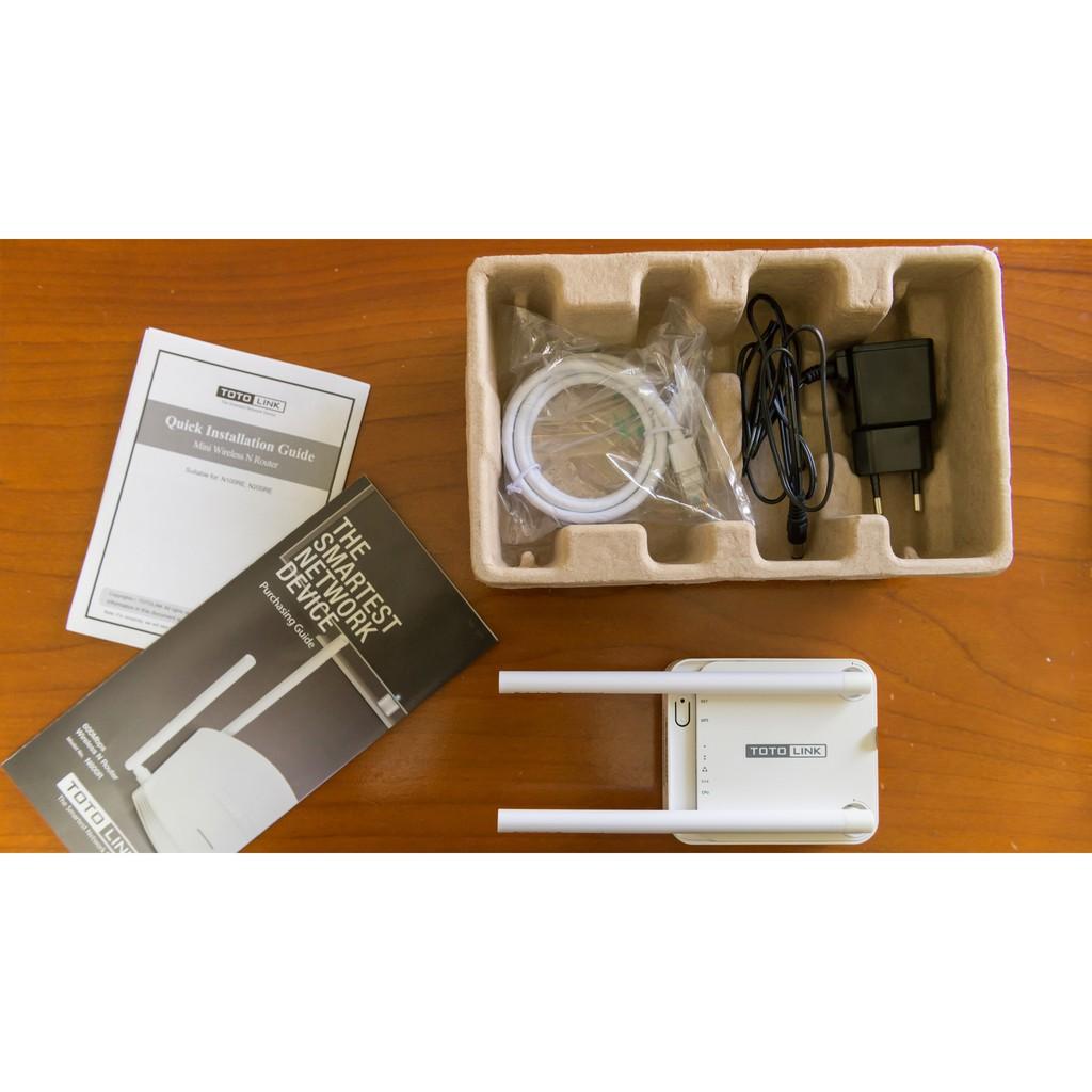 [Freeship đơn 150k] – Bộ thu phát Wifi 2 râu 300Mbps TOTOLINK N200RE-V3 – Hãng Phân Phối Chính Thức Giá chỉ 306.400₫
