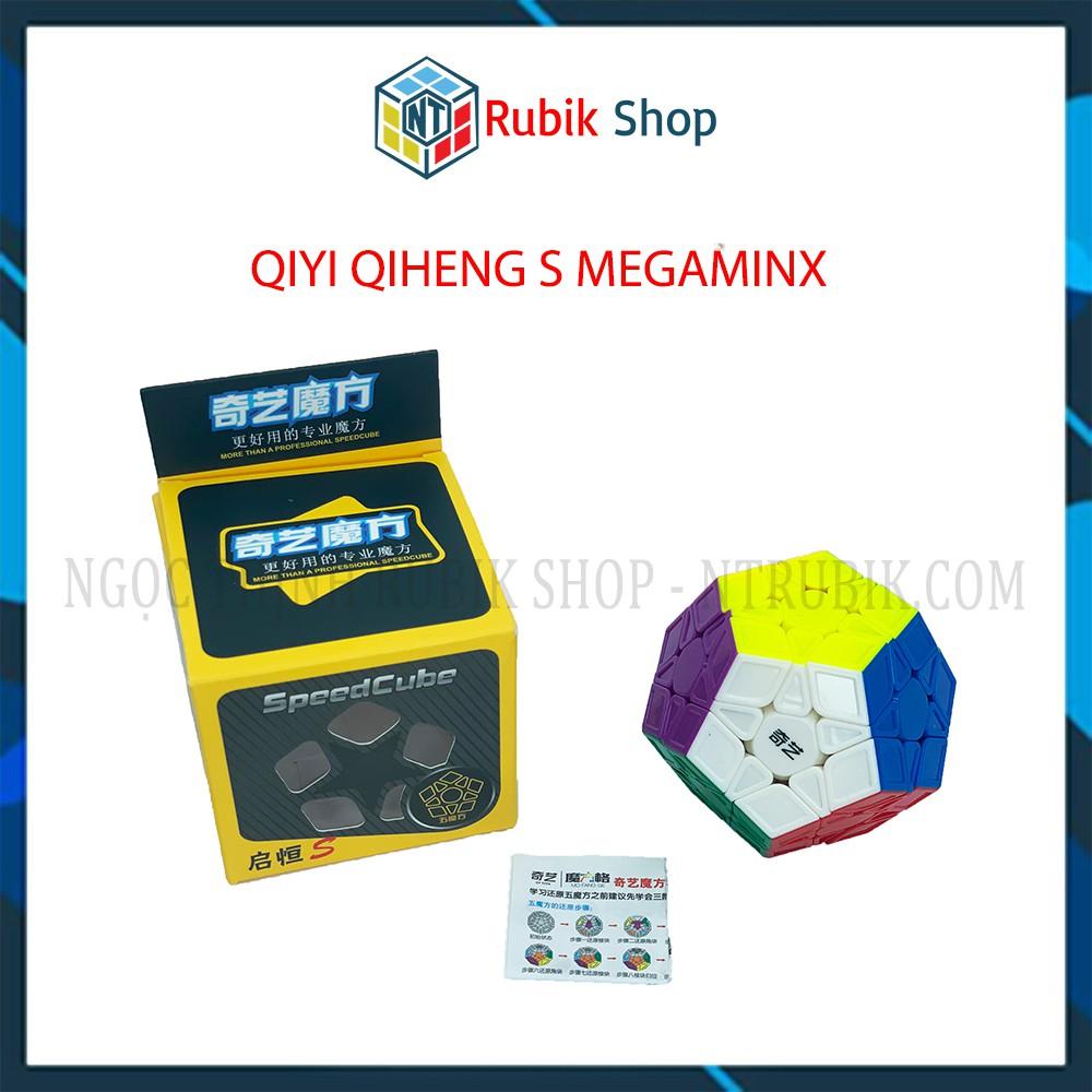 Rubik Megaminx - QiYi QiHeng S Megaminx ( sculpture ) stickerless