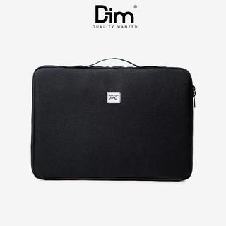Túi Chống Sốc Laptop DIM Laptop Case (Dành Cho Máy 13 inch, Chia Ngăn Nhỏ Tiện Lợi) - Màu Đen / Xám / Vàng