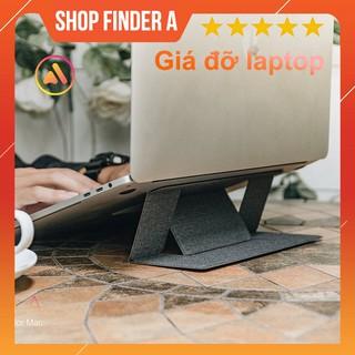 [Freeship] Giá đỡ đế tản nhiệt laptop gấp gọn, thiết kế siêu gọn mang theo di động