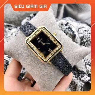 Đồng hồ Nữ Guess dây da kim tuyến đẹp dịu dàng - Bảo hành 12 tháng thumbnail