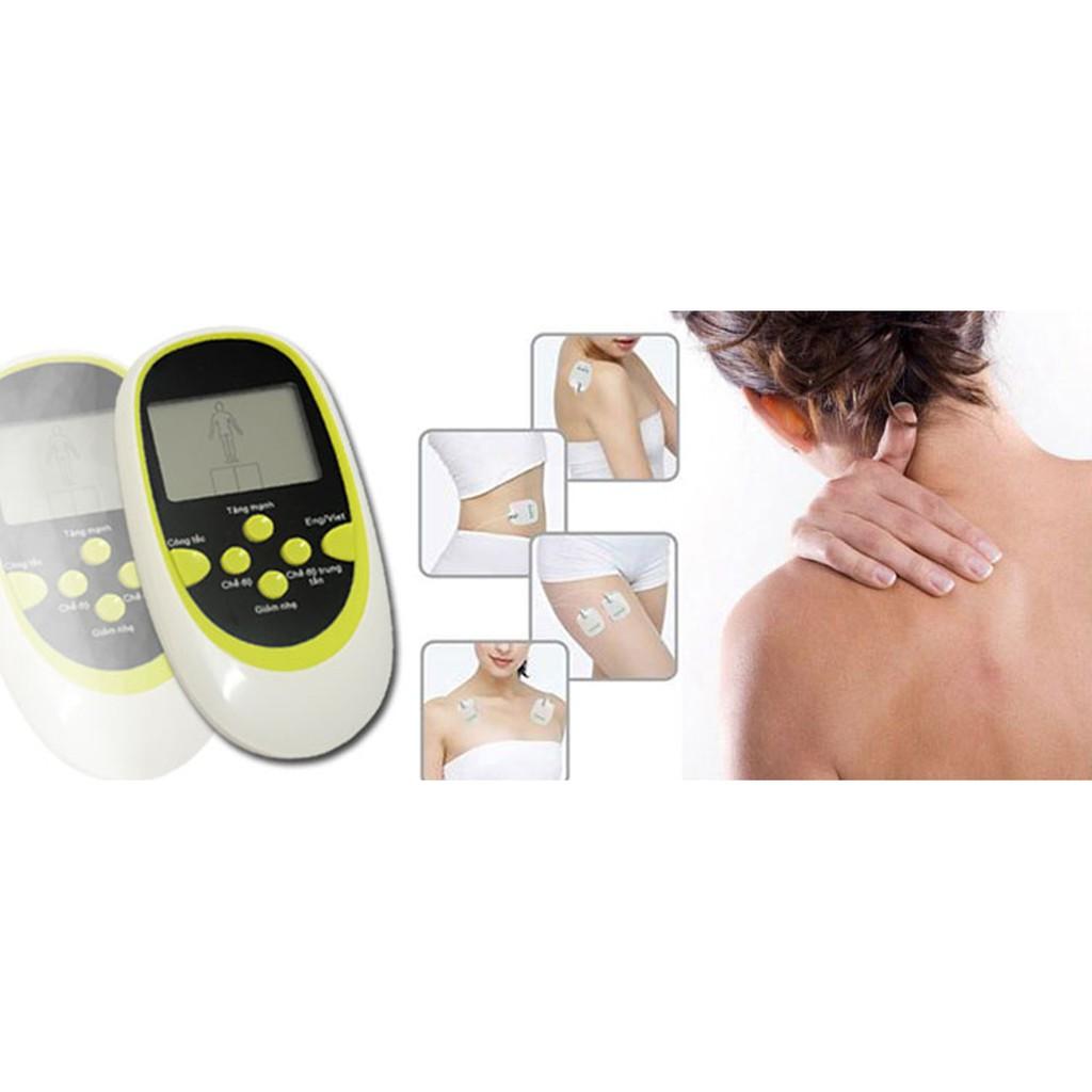 Dụng cụ massage 8 miếng dán giúp xua tan mệt mỏi