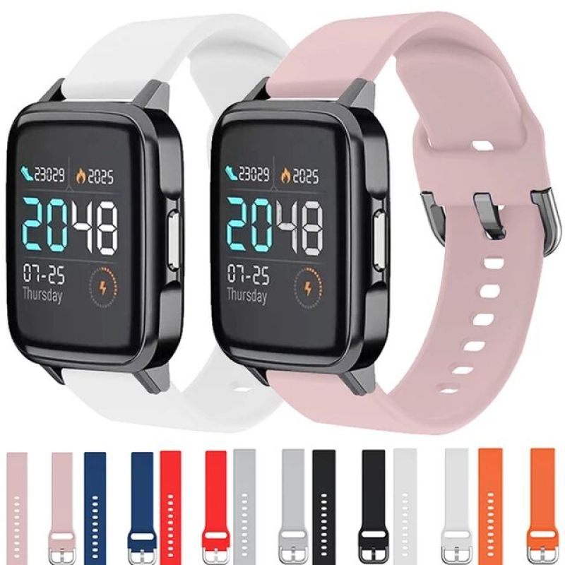 Dây đeo silicon mềm cho đồng hồ thông minh XiaoMi Haylou LS02