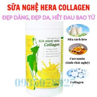 Sư a Nghê Hera Collagen 500g [CHI NH HA NG] Giu p Đe p Da Hô Trơ Tri Đau Bao Tư thumbnail