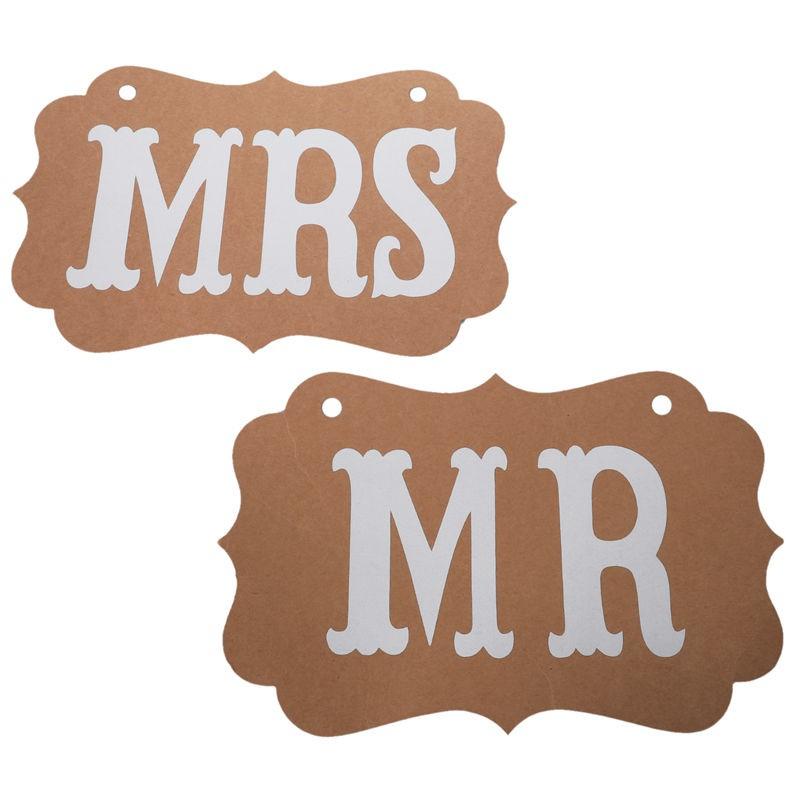Thẻ họa tiết Mr Mrs treo trang trí đám cưới tiện dụng - 13913538 , 2497315989 , 322_2497315989 , 22000 , The-hoa-tiet-Mr-Mrs-treo-trang-tri-dam-cuoi-tien-dung-322_2497315989 , shopee.vn , Thẻ họa tiết Mr Mrs treo trang trí đám cưới tiện dụng
