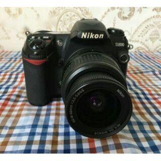 Máy Ảnh nikon D200 + lens 28-80mm