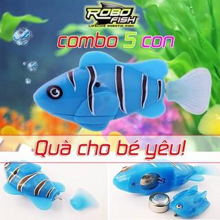 Combo 5 con cá điện tử Robot Fish