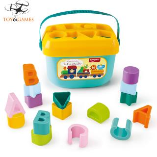 Baby's First Blocks Box 1-3 Years Old Multi-function Baby Toy Mind-development Toy