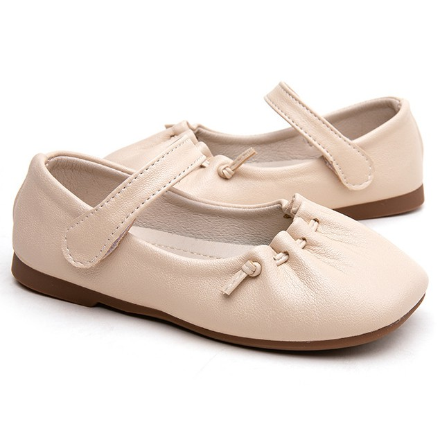 Giày búp bê bé gái [Siêu Sale] hài bé gái da mềm thiết kế tinh tế đi êm chân [có size lớn]