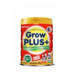 { nhập TKB0718W3B giảm 3% }  Sữa Grow Plus+ (đỏ) 900g NutiFood MẪU MỚI KO TEM date 5/2020