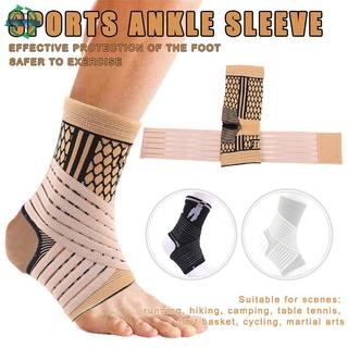 ydmtp High Elastic Compression Ankle Bandage Brace Support for Sports Basketball Soccer @vn