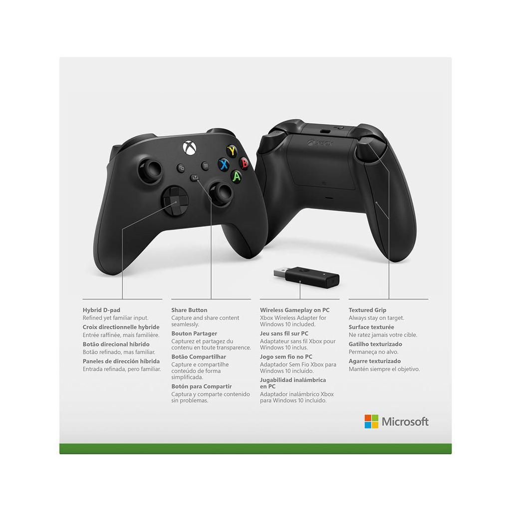 [Freeship toàn quốc từ 50k] Tay Cầm Xbox Series X Kèm Cáp Type-C | USB Adapter