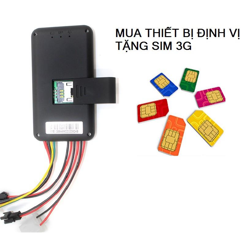 Thiết bị định vị GPS xe máy GT06 (Tặng kèm Sim 3G)