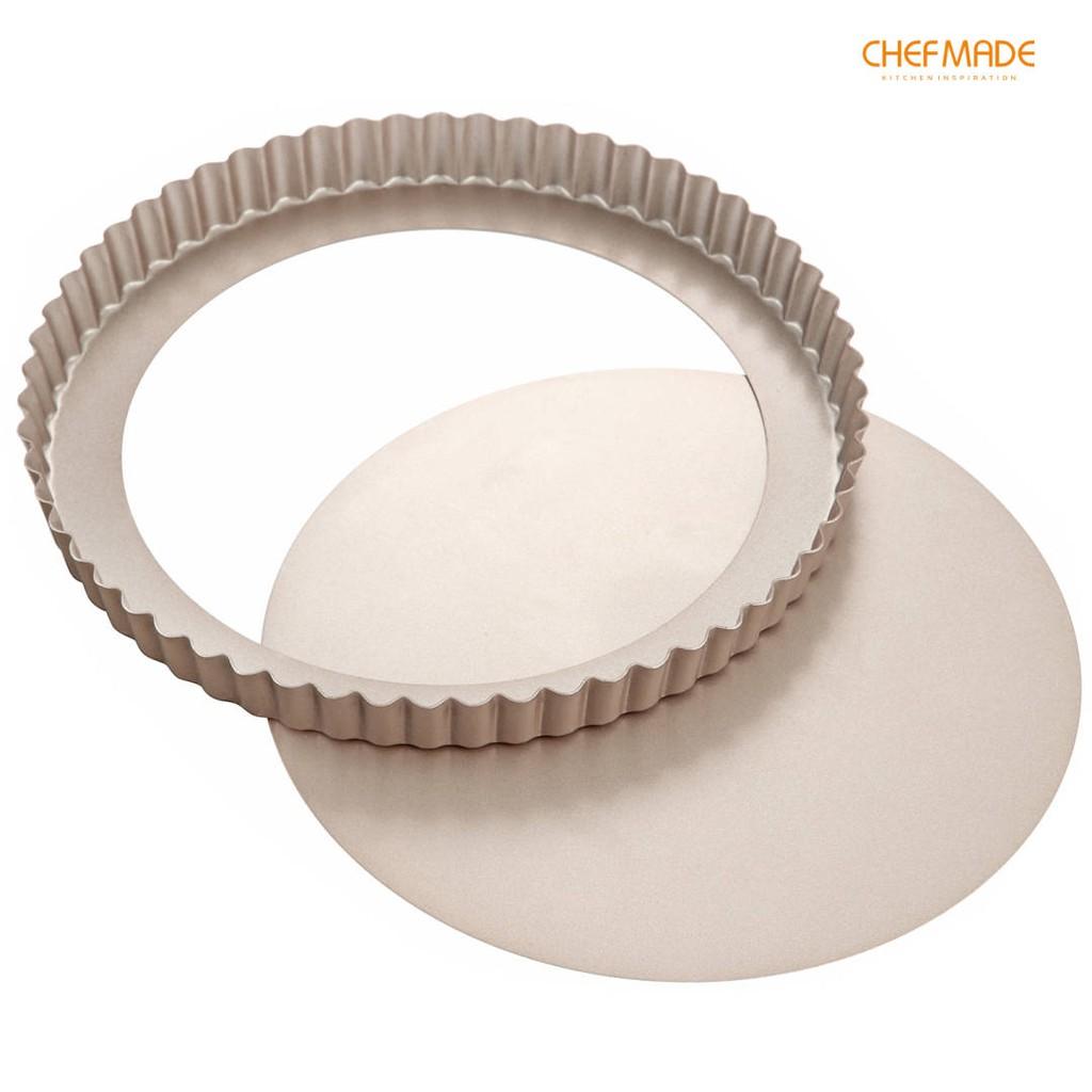 CHEFMADE Khuôn Làm Bánh Tart 9.5-inch Chống Dính Có Thể Tháo Rời WK9063