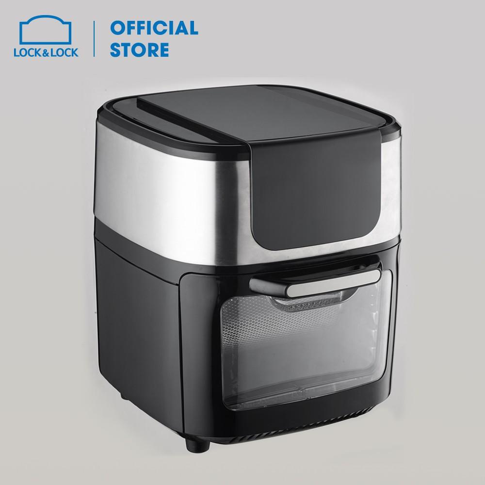 Lò nướng không khí Lock&Lock Air Oven 10L - Màu đen EJF691