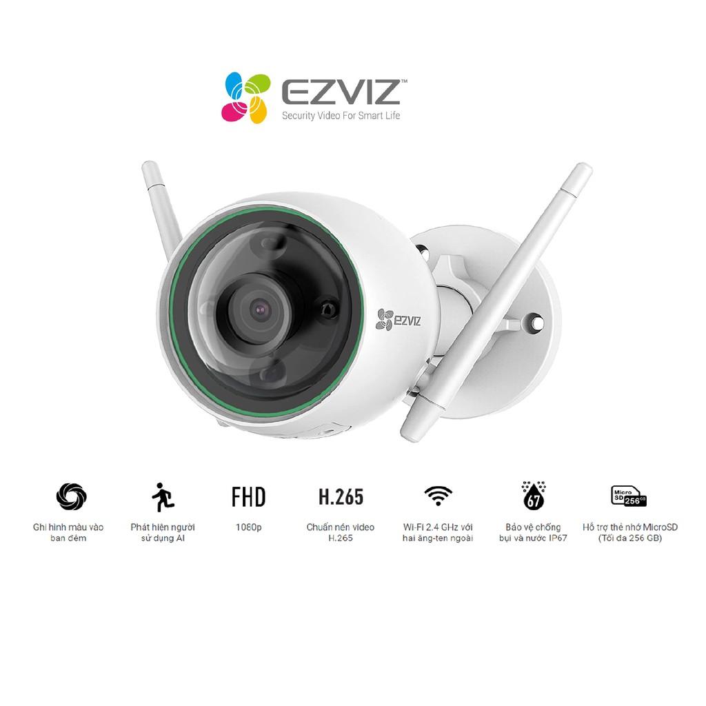 Camera Wifi gắn ngoài trời EZVIZ CS-C3N (A0-3H2WFRL) 1080p