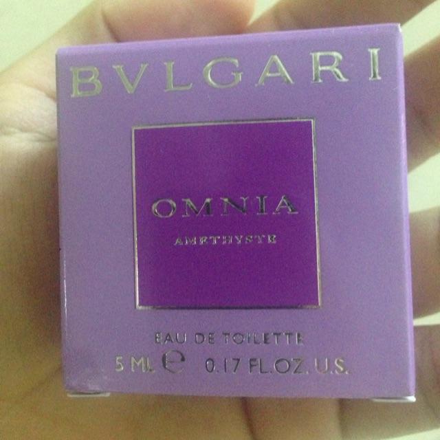 Nước hoa mini Bvlgari Omnia Amethyste