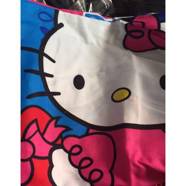 BỘ GA Mèo Kitty xanh 1,6mx 2m
