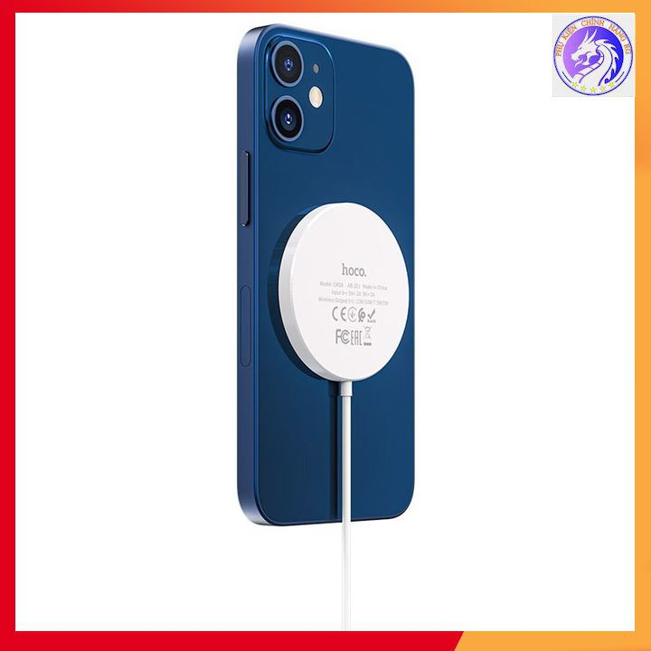 Sạc Không Dây Từ Tính Magsafe Hoco CW28 15W Chính Hãng Hoco Sạc Nhanh Cho iPhone X/XS/.../12 PRO MAX