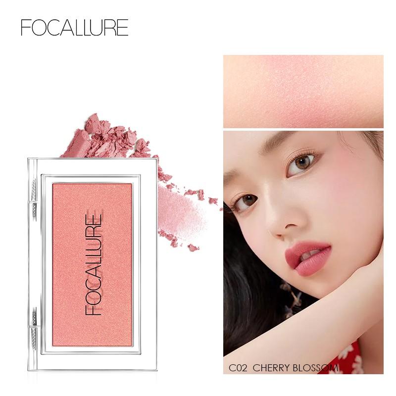 Phấn trang điểm má hồng FOCALLURE dạng nén 38g