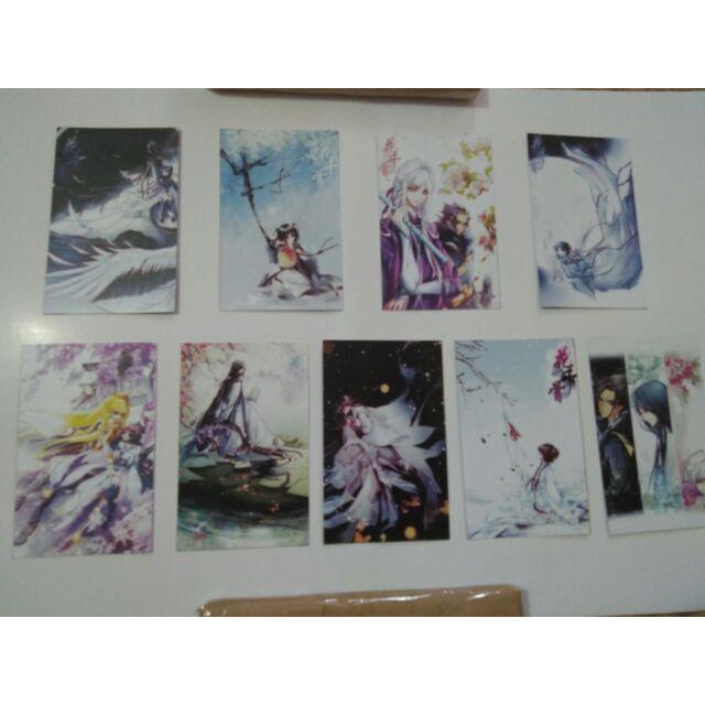 Bộ postcard hoa thiên cốt 9 cái