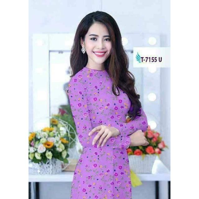 Vải áo dài 3D - 3005538 , 514744814 , 322_514744814 , 220000 , Vai-ao-dai-3D-322_514744814 , shopee.vn , Vải áo dài 3D