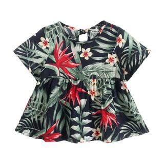 Đầm Sanlutoz Họa Tiết Hoa Làm Bằng Cotton Dành Cho Bé Đi Biển thumbnail