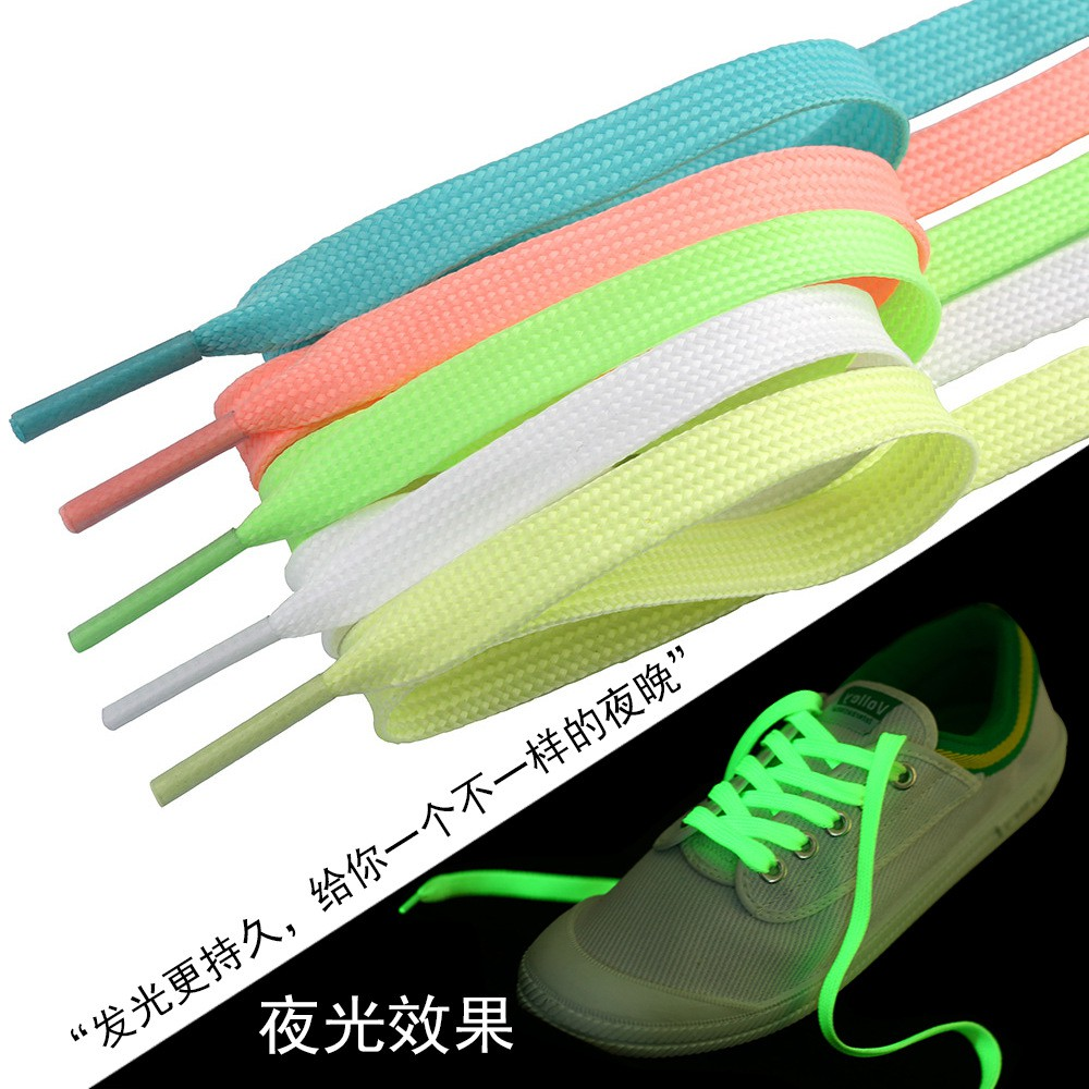 Dây giày phát quang các màu (bán theo cặp)