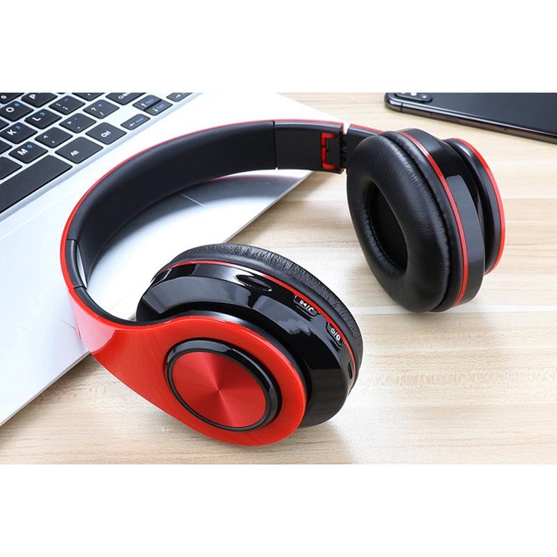 Tai nghe B39 Bluetooth 5.0 Tặng Kèm dây Jack 3.5mm, Tai nghe có hỗ trợ thẻ nhớ [B39]