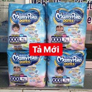 Bỉm Tã quần Mamy Poko L28/XL24/XXL20/XXXL14 trai/ gái