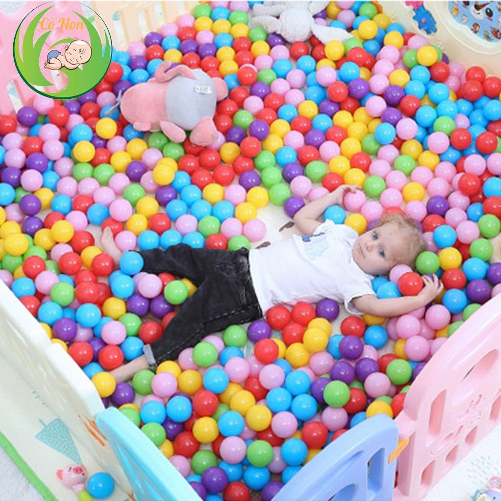 [Mã SKAMLTS7 giảm 10% đơn 150K] Bóng nhựa nhiều màu cho bé (Túi 100 quả)