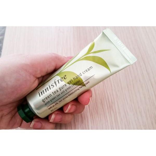 Kem Dưỡng Da Tay Chiết Xuất Trà Xanh Innisfree Green Tea Pure Gel Hand Cream 50ml - 3281410 , 719622714 , 322_719622714 , 125000 , Kem-Duong-Da-Tay-Chiet-Xuat-Tra-Xanh-Innisfree-Green-Tea-Pure-Gel-Hand-Cream-50ml-322_719622714 , shopee.vn , Kem Dưỡng Da Tay Chiết Xuất Trà Xanh Innisfree Green Tea Pure Gel Hand Cream 50ml