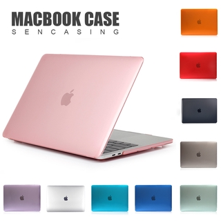 Vỏ Bảo Vệ Crystal Macbook Air 13 Casing 13.3 Pro Retina white A1502 A1278 / 207 / 516 / A1706 A1708 A1989 A2159 case Hard Front and Back Laptop Casing cover