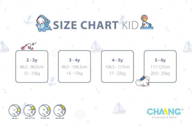 CHAANG - Bộ cúc vai quần giả jeans dành cho bé dưới 5 tuổi