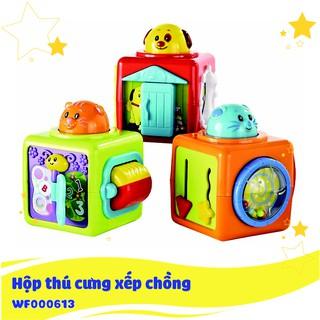 Hộp thú cưng xếp chồng Winfun 0613
