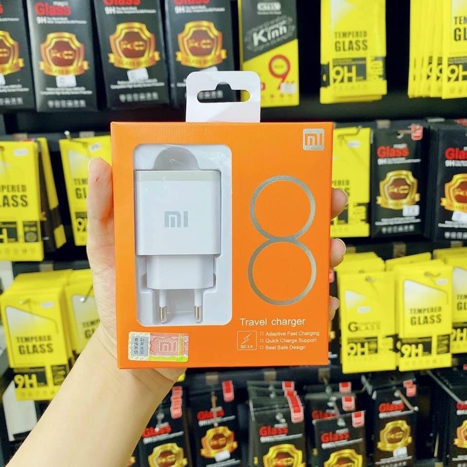 Sạc Xiaomi Quick Charge 3.0 Type-C Bộ Sạc Nhanh Xiaomi 5V-3A 18W Chính Hãng - Bảo Hành 6 Tháng