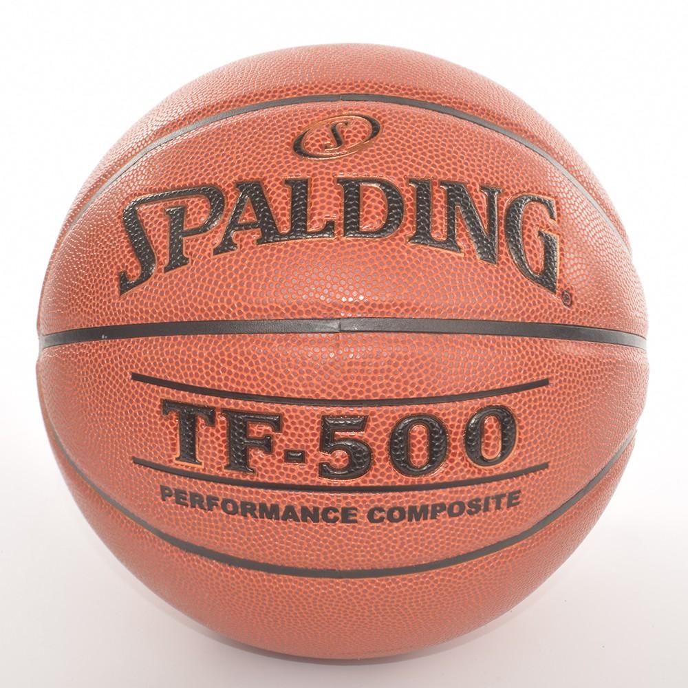 Bóng rổ Spalding TF500 Performance Indoor/Outdoor Size 7 + Tặng bộ kim bơm bóng và lưới đựng bóng