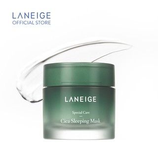 Mặt nạ ngủ dưỡng ẩm sâu Laneige Special Care Cica Sleeping Mask 60ml