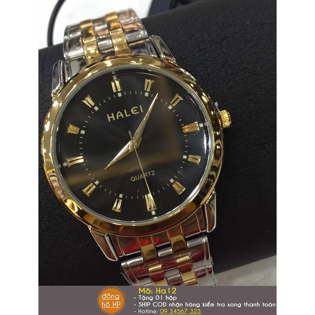 Đồng hồ nữ Halei chống nước dây demi