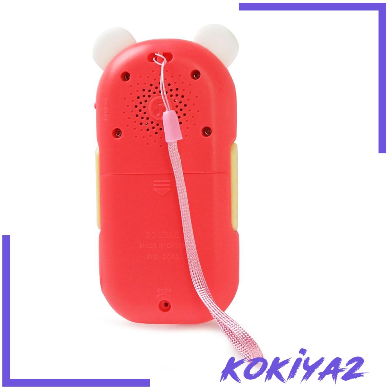 [KOKIYA2] Baby Colorful Music Mobile Phone Toys Electric Early Learning Educational Toys