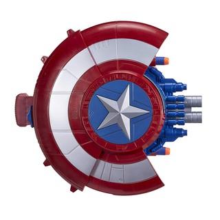 Đồ Chơi Khiên Của Đội Trưởng Mỹ Nerf Marvel Avengers Civil War Captain America Blaster Reveal Shield