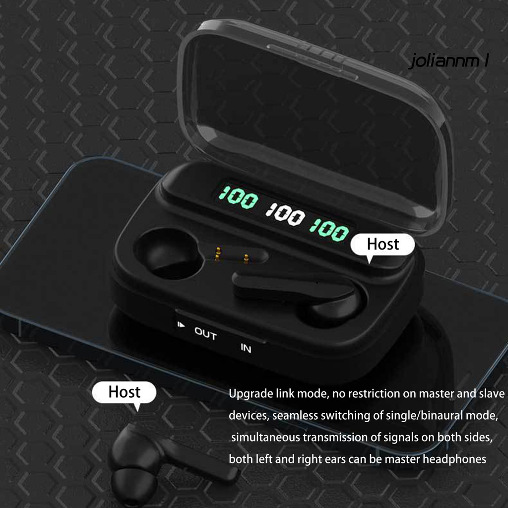 Tai Nghe Nhét Tai Tws-209 Kết Nối Bluetooth 5.1 Chống Thấm Nước Chất Lượng Cao Điện Thoại